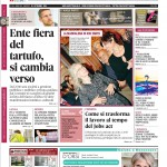 Le copertine di Gazzetta d'Alba e dello speciale tartufo del 29 settembre 2015