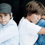 Nicola e Filippo, volti che bucano lo schermo