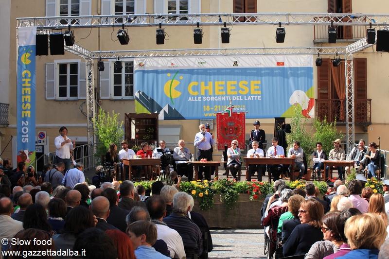 Aggiungi un posto a tavola per la manifestazione Cheese 2017
