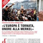 «L'Europa è tornata, onore alla Merkel». Romano Prodi parla di Ue e migranti a Famiglia Cristiana