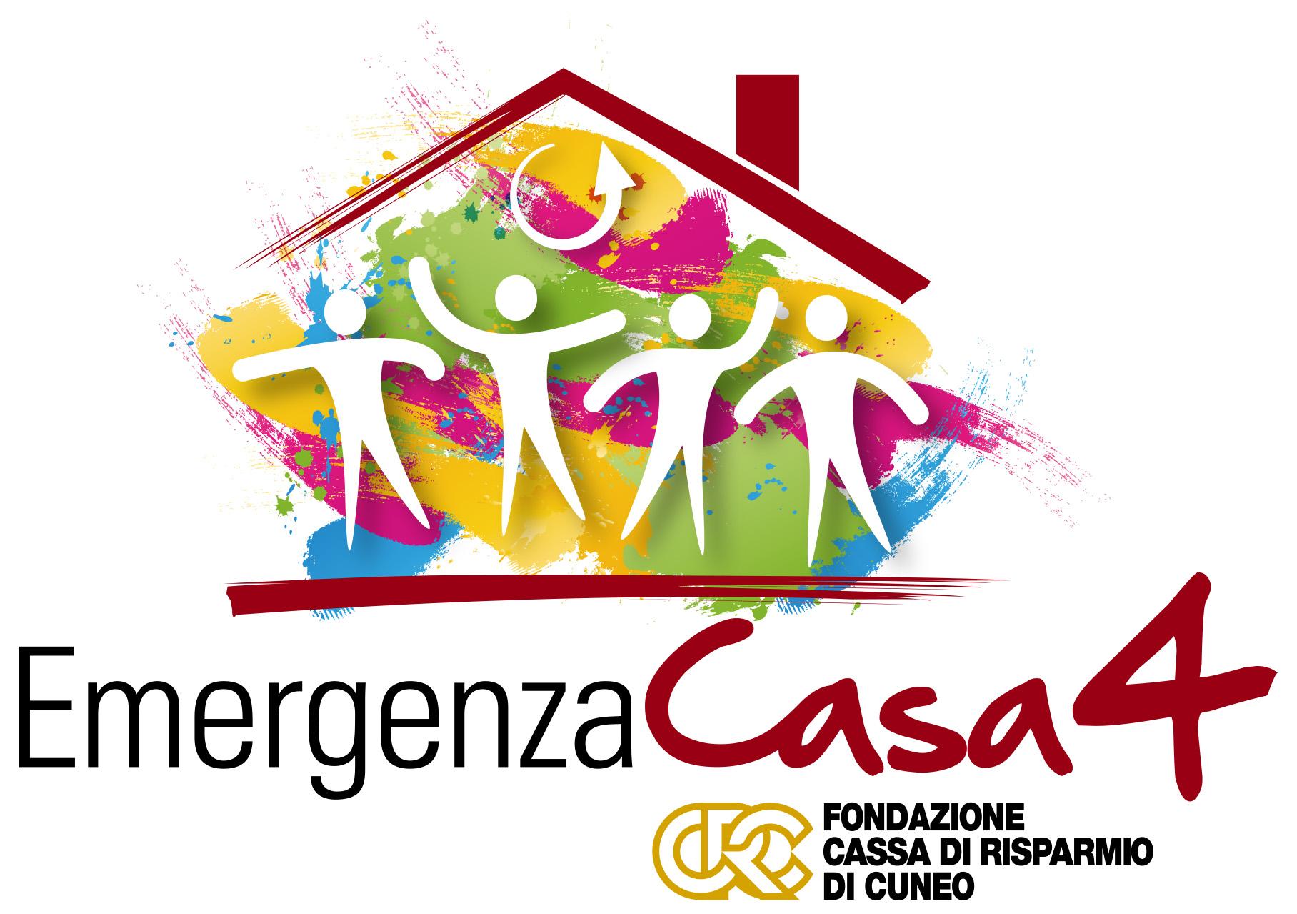 logo Emergenza Casa 4 Fondazione CRC