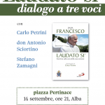 "Alba, Dialogo a tre voci sull'enciclica di papa Francesco ""Laudato si'"""