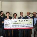 I consiglieri regionali del Movimento 5 stelle restituiscono 354.811,27 euro