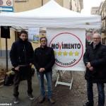 """I grillini albesi in trasferta ad Imola per la manifestazione nazionale """"Italia 5 stelle"""""""