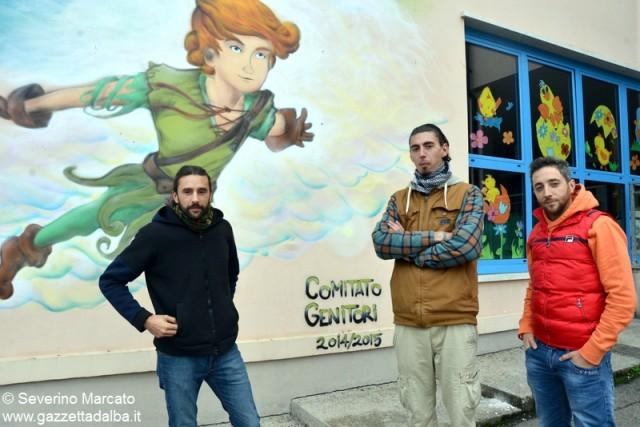Coppino Murales Da sx Matteo-Binno-Enrico 3