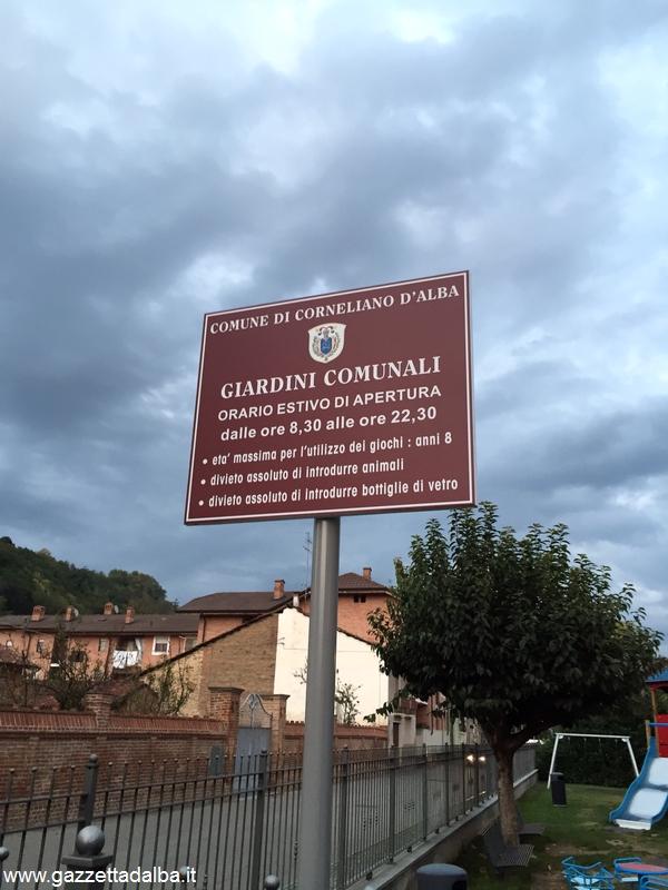 Corneliano parco cartello per pag 50