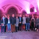 Lotta contro i tumori: i portici del Palazzo comunale accesi in rosa