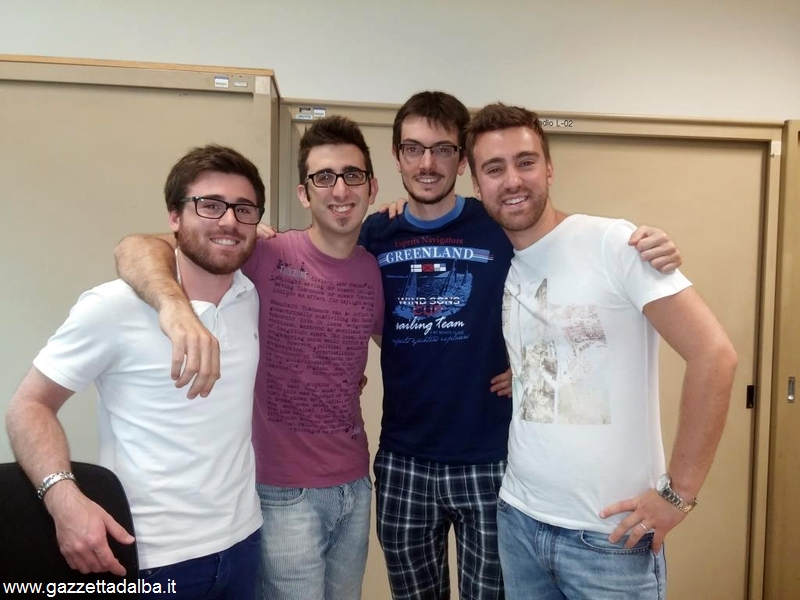 Luca Ferrero, Andrea Gullino,Ivan Cagnassi,Gabriele Masseroni