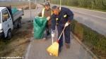 Protezione civile Canale pulisce la ciclabile (4)