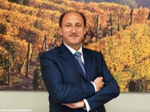 Il direttore generale di Banca d'Alba, Riccardo Corino.