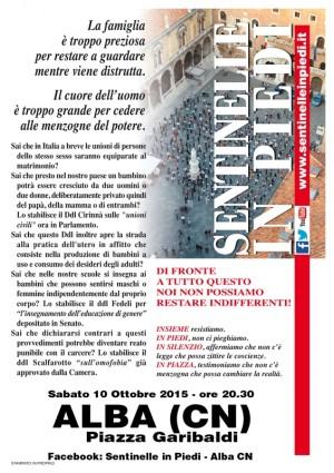 Volantino Italiano Alba