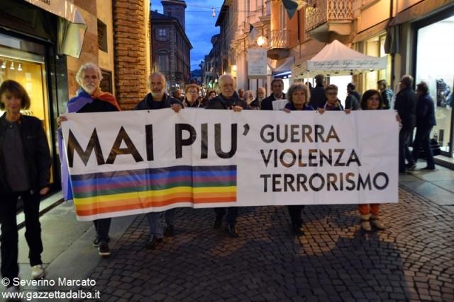 alba manifestazione pace