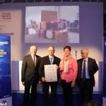 Un'azienda roerina premiata a Milano per il miglior cibo artigianale made in Italy