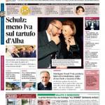 La copertina di Gazzetta d'Alba del 13 ottobre 2015