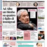 La copertina di Gazzetta d'Alba del 27 ottobre 2015