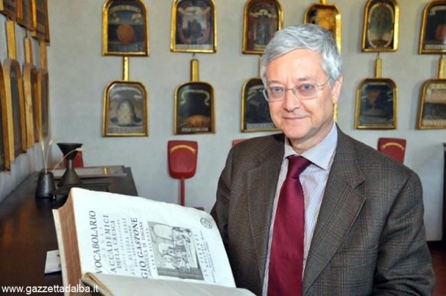 Claudio Marazzini, presidente dell'Accademia della Crusca.