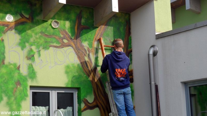 Canale murale ranocchio