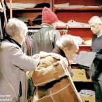 La Caritas albese è scesa in piazza: «È allarme povertà»