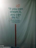 Il motto a cui si è aggrappato Walt Disney.
