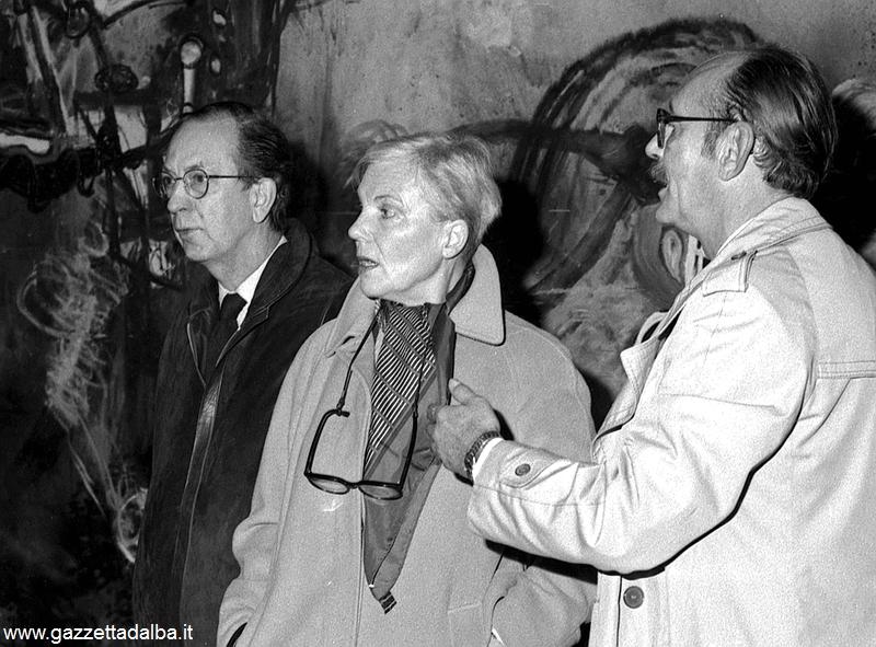 Pier Giorgio Gallizio con Constant Nieuwenhuys e la moglie