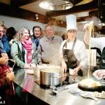 A lezione di cucina nel castello
