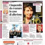 La copertina di Gazzetta d'Alba del 3 novembre 2015