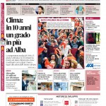 La copertina di Gazzetta d'Alba del 17 novembre 2015