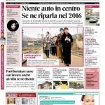 La copertina di Gazzetta d'Alba del 24 novembre 2015
