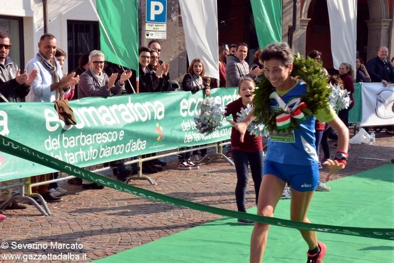 ecomaratona Sonia Ceretto prima donna maratona