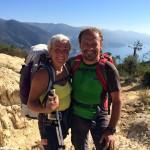 A piedi da Sestriere alle Cinque Terre: l'impresa di due escursionisti piemontesi