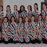 Ginnastica estetica: Ginnastica Alba a Budapest per la  Coppa del mondo con il motto Solidarité