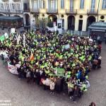 Alba, mille persone alla Marcia per il clima