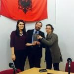 Educazione finanziaria alla radio pubblica albanese con il Manuale di Ghisolfi