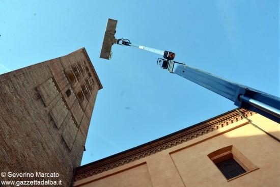 Alba campanile duomo 16