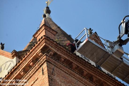 Alba campanile duomo 18