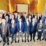 La sinistra Tanaro ha accolto 43 nuovi Cavalieri di San Michele
