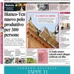 La copertina di Gazzetta d'Alba del 1° dicembre 2015