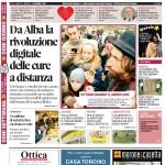 La copertina di Gazzetta d'Alba dell'8 dicembre 2015