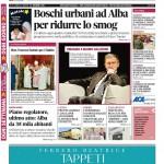 La copertina di Gazzetta d'Alba del 15 dicembre 2015