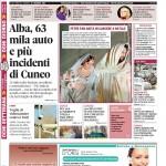 La copertina di Gazzetta d'Alba del 22 dicembre 2015