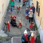 Bosco delle renne a Dogliani Castello