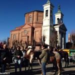Bra: benedizione dei cavalli al santuario