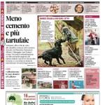 La copertina di Gazzetta d'Alba del 12 gennaio 2016