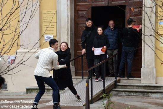 Alba scelta per il reality cinese sui matrimoni 13