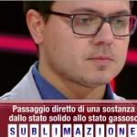 Il castagnitese Del Gaudio sconfitto dopo due settimane nel gioco di Canale 5