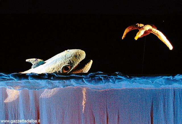 Burattinarte Azzurra Balena