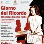 L'associazione Girotti apre la mostra per il Giorno del ricordo