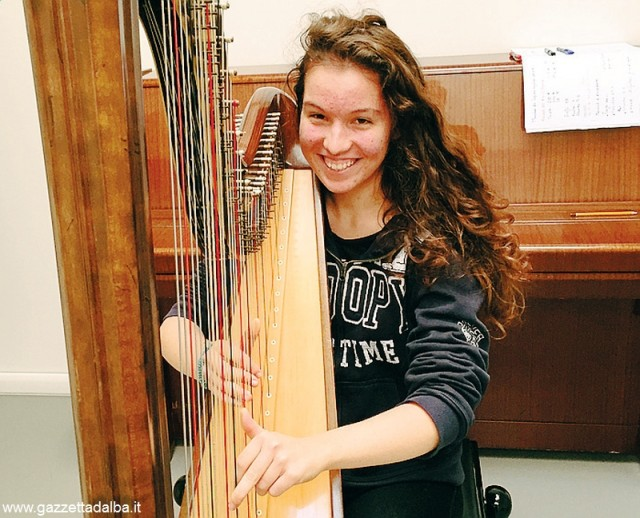 Letizia Neri allieva istituto civico musicale