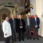 Mons. Nosiglia visita l'ospedale di Bra