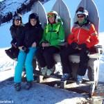 Gli sciatori di Montà sulle Dolomiti